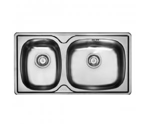 Franke Sink 2-Bowl s/s Sink