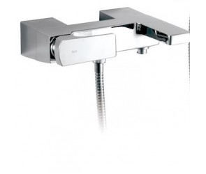 Roca Escuadra Exposed Bath Mixer w/ Hand Shower